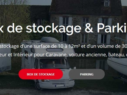 Tourneboeuf Parking Stockage